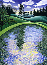 Finding Water by Wynn Yarrow (Giclee Print)