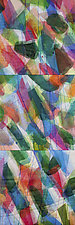 Colour Stream by Nelda Warkentin (Fiber Wall Art)