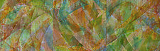 Summer's Song 2 by Nelda Warkentin (Fiber Wall Hanging)