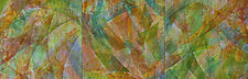 Summer's Song 2 by Nelda Warkentin (Fiber Wall Art)
