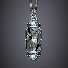 Neko Necklace by Dawn Estrin (Silver Necklace)