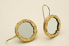 Light Catching Earrings by Nancy Worden (Mirrored Earrings)