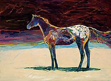 Appaloosa by Virginia Wood (Giclee Print)