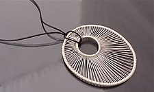 ''OH'' Pendant by Tana Acton (Silver Pendant)