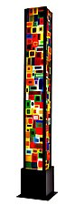 Carnival Floor Lamp by Helen Rudy (Art Glass Floor Lamp)