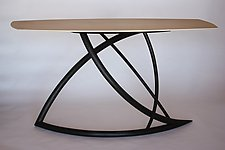 Evolutions by Dean Pulver (Wood Console Table)