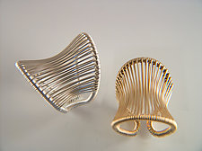 Corset Ring by Tana Acton (Gold & Silver Ring)