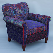 Molly Rose Chair in Concord by Mary Lynn O'Shea (Upholstered Chair)