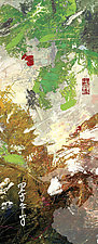 Irodori Yutakana Hanazono 4 by Frank  Satogata (Dye Sublimation Print)