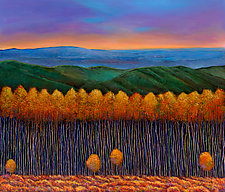 Aspen Perspective by Johnathan  Harris (Giclee Print)