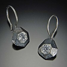 Rock Earrings by Dahlia Kanner (Silver & Stone Earrings)