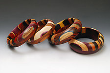 Ooom Bracelet by Martha Collins (Wood Bracelet)