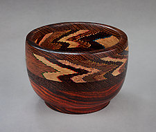 Jeweltone Ceremonial Bowl by Martha Collins (Wood Bowl)