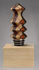 Tannenbaum Bottle Stopper by Martha Collins (Wood Bottle Stopper)