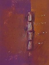 Evening Light 3 by Sandra Humphries (Monotype Print)