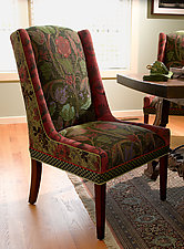 Windham Chair by Mary Lynn O'Shea (Forest and Dark Sage)