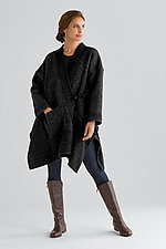Nomad Cape Coat by Carol Lee Shanks  (Wool Coat)