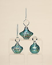 Amazon Perfume Set by Bryce Dimitruk (Art Glass Perfume Bottles)