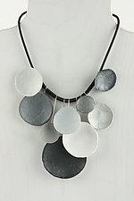 Nocturne Pendant by Klara Borbas (Polymer Clay Necklace)