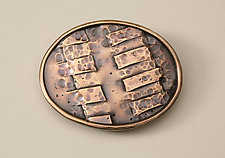 Hand Forged Bronze Belt Buckle by Nancy Worden (Bronze Belt Buckle)
