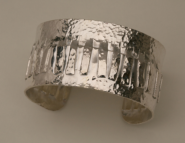 Sterling Silver Fringe Cuff