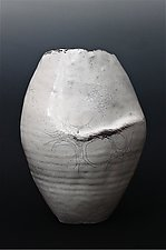 Thrown and Altered Porcelain Vessel by Leta Davis and David Ross (Ceramic Vessel)