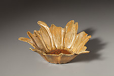 Sunflower Bowl by Angelia Hayes (Ceramic Bowl)
