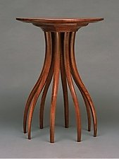 Walnut Side Table by Blaise Gaston (Wood Side Table)
