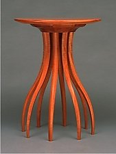 Mahogany Side Table by Blaise Gaston (Wood Side Table)