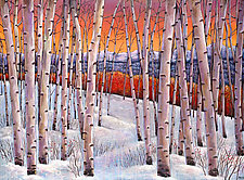 Winter's Dream by Johnathan  Harris (Giclee Print)