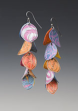Salsa Earrings by Carol Windsor (Silver & Paper Earrings)