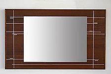Line Mirror by Laura Rittenhouse (Wood Mirror)