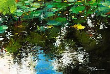 Lily Pond by Frank  Satogata (Dye Sublimation Print)