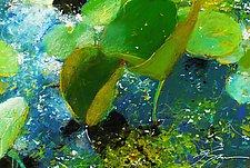 Waterlilies by Frank  Satogata (Dye Sublimation Print)