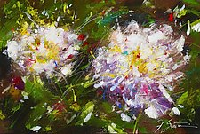 White Peonies by Frank  Satogata (Dye Sublimation Print)