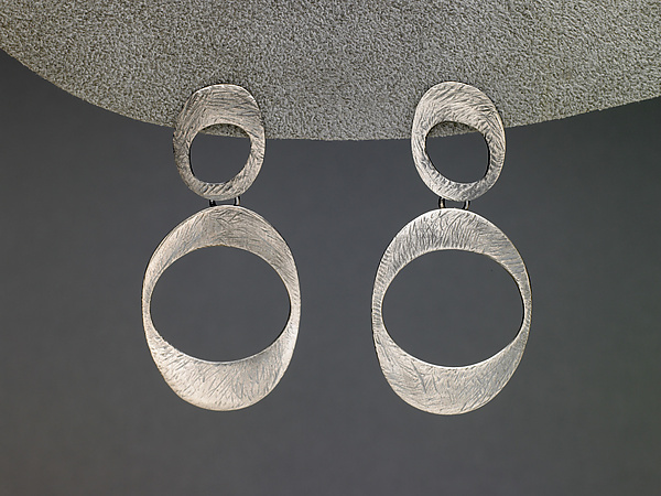 Carved Ovals Earrings