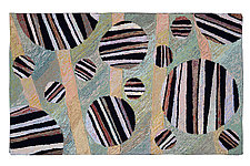 Slapton Sands by Meg Little (Wool Rug)