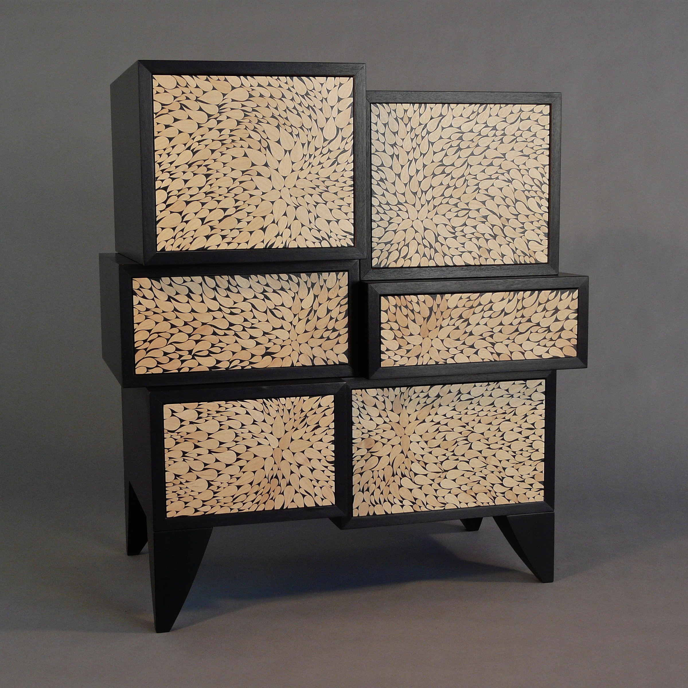 Botanical Cabinet by Kevin Irvin (Wood Cabinet)