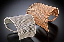 Asymmetrical Cuff by Tana Acton (Gold & Silver Bracelet)
