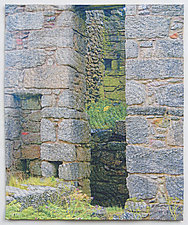 Old Stones 2 by Marilyn Henrion (Fiber Wall Art)