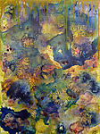Bloom #2 by Joanie San Chirico (Acrylic Painting)