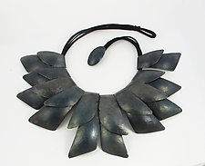 Feather Necklace by Dennis Higgins (Steel Necklace)