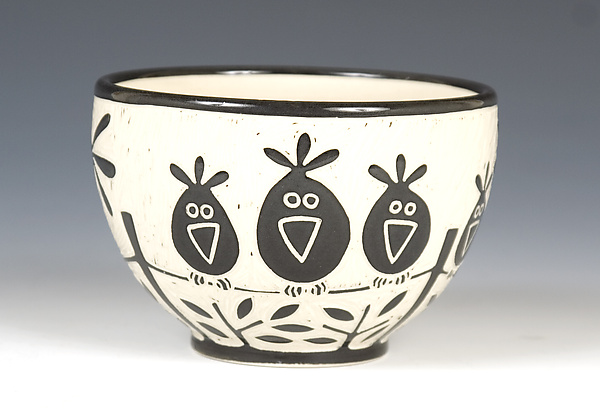 Birds On a Wire Bowl