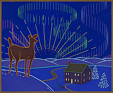 Northern Lights by Charles Munch (Giclee Print)