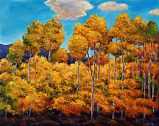 Aspen Evanescence by Johnathan  Harris (Giclee Print)