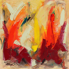 Abstract Art 61 by Lynne Taetzsch (Acrylic Painting)