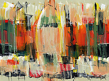 Abstract Art 55 by Lynne Taetzsch (Acrylic Painting)