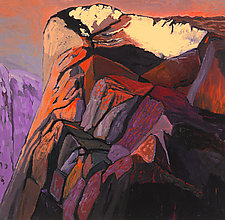 Yosemite Cliffs by Bruce Klein (Giclée Print)