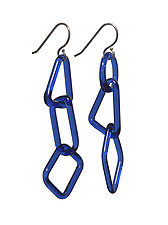 GEO Earrings by Marna Clark (Art Glass Earrings)