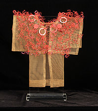 Flame Kimono by Susan McGehee (Metal Sculpture)